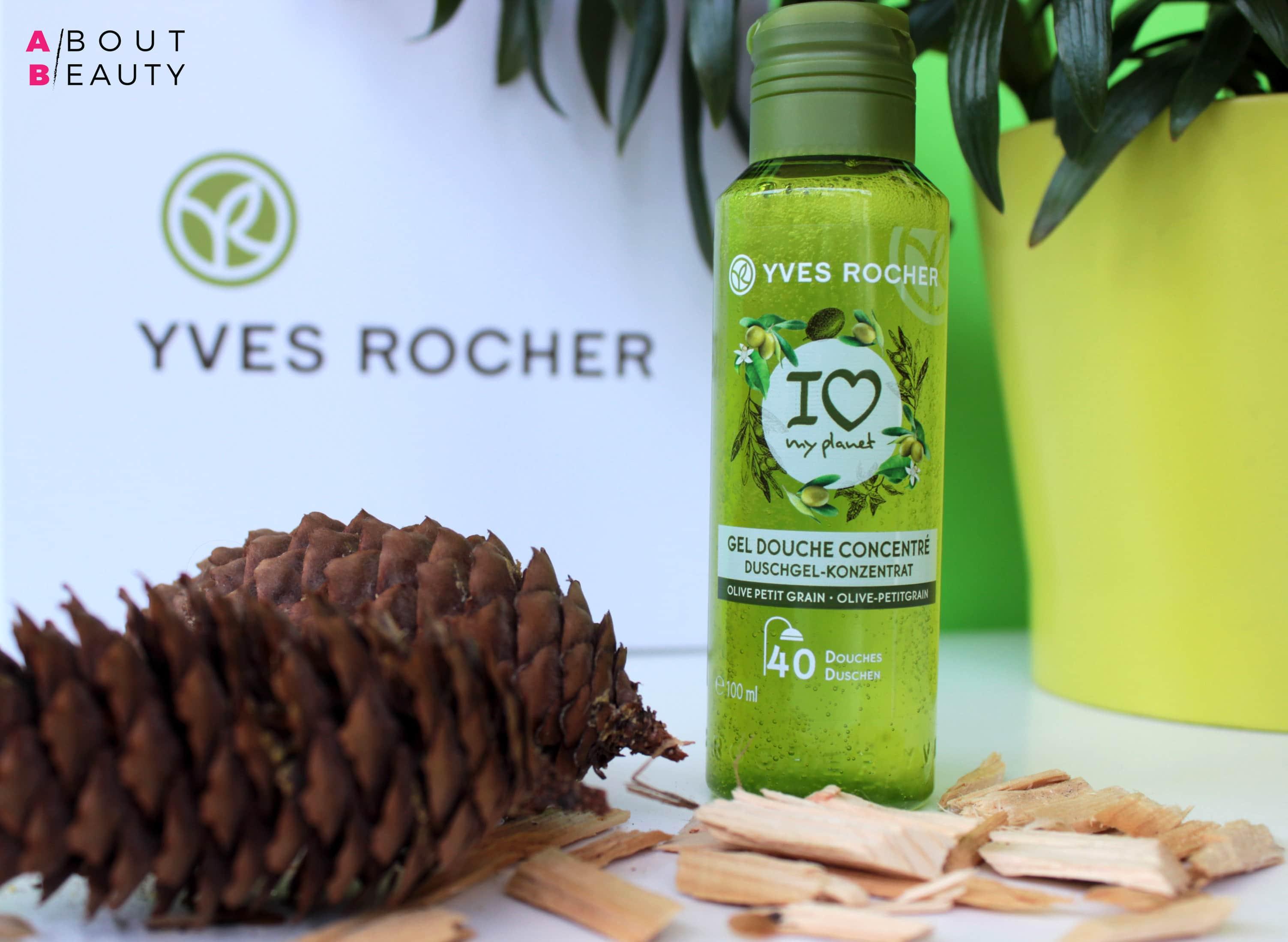 Yves Rocher presenta il nuovo Gel Doccia Concentrato - Versione Rilassante all'Olio Essenziale di Petit Grain