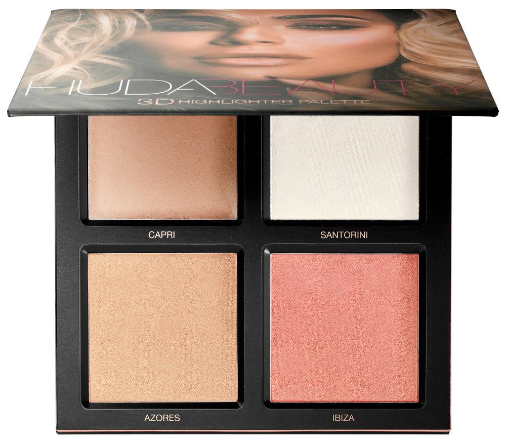 Huda Beauty arriva in Italia: tutti i prodotti presto disponibili da Sephora - La palette di illuminanti 3D Highlighter Palette