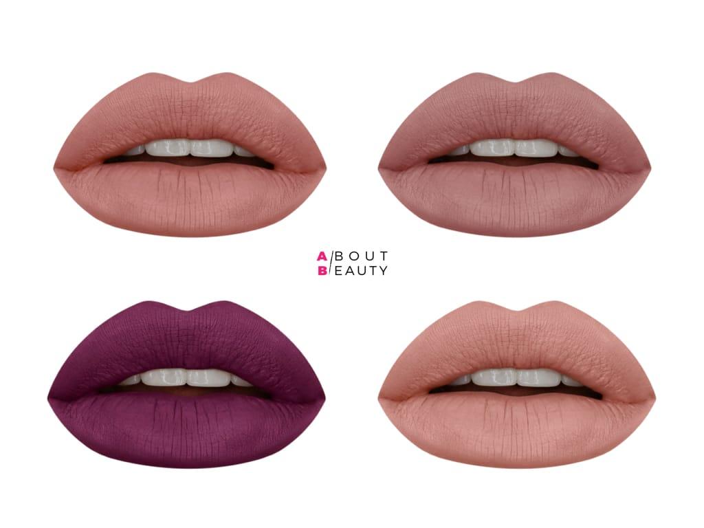 Huda Beauty arriva in Italia: tutti i prodotti presto disponibili da Sephora - Rossetti liquidi opachi Liquid Matte