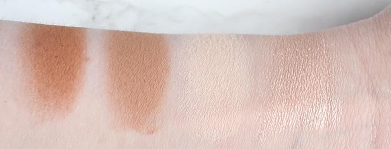 Urban Decay Naked Skin Shapeshifter, le palette contouring con polveri e creme per un look viso completo - Anteprima e swatches - Light Medium