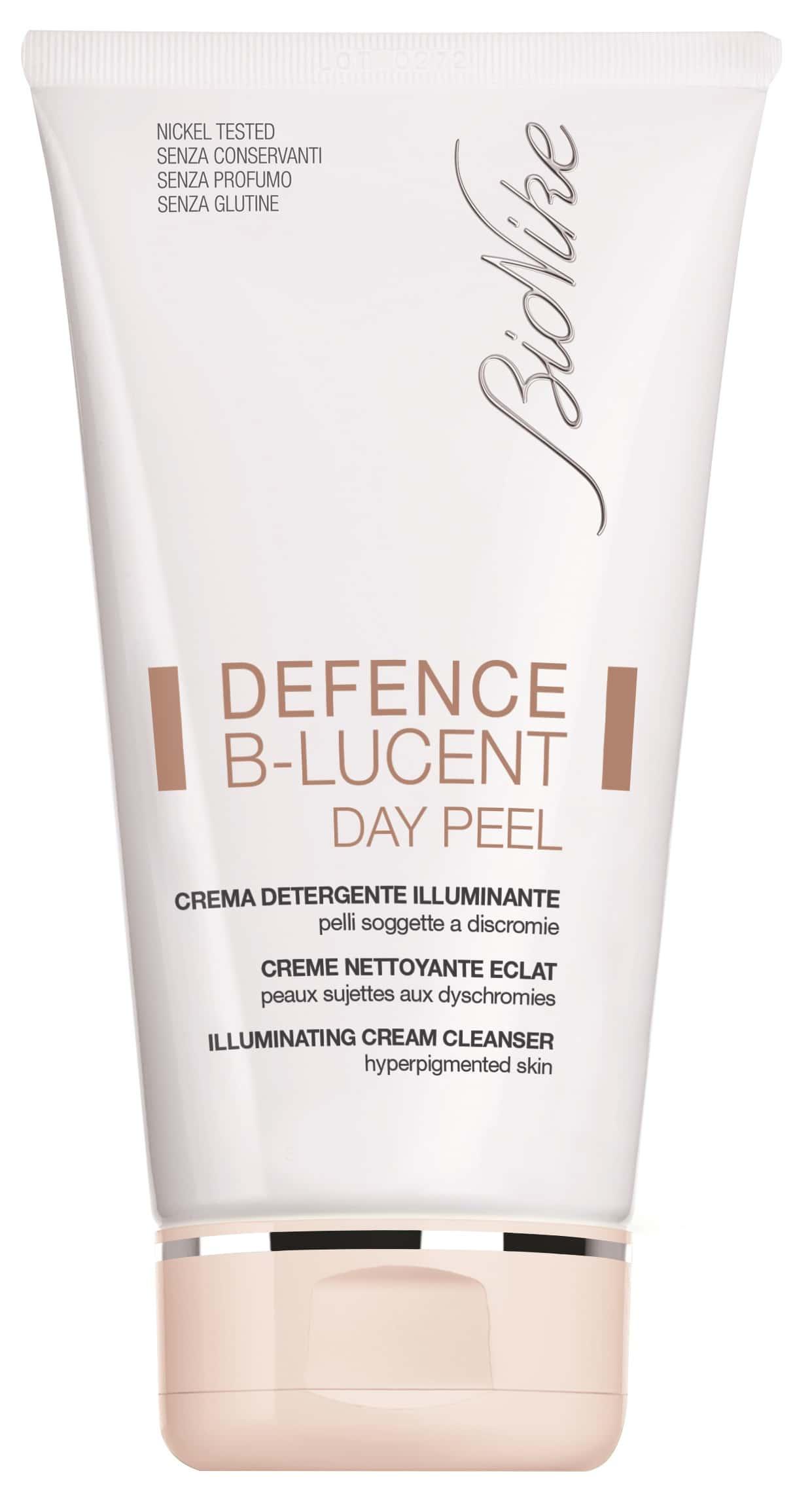 Defence B-LUCENT di BioNike: un detergente cremoso ed esfoliante per una pelle rinata