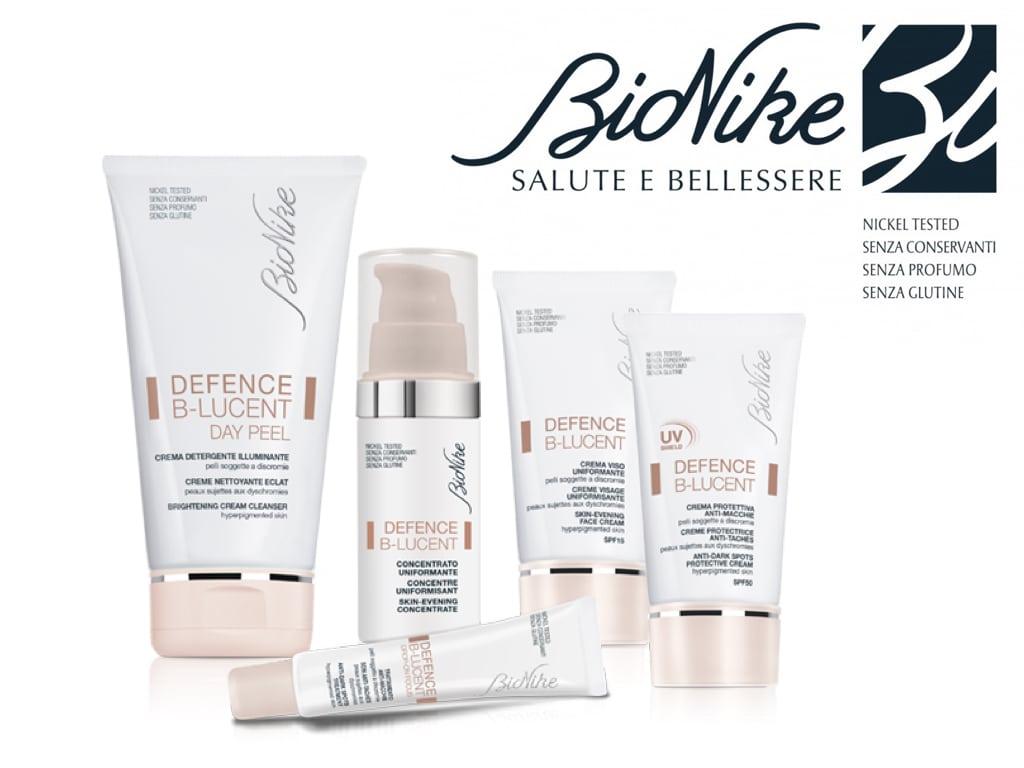 Defence B-LUCENT by BioNike: la linea skincare dedicata alle discromie del viso