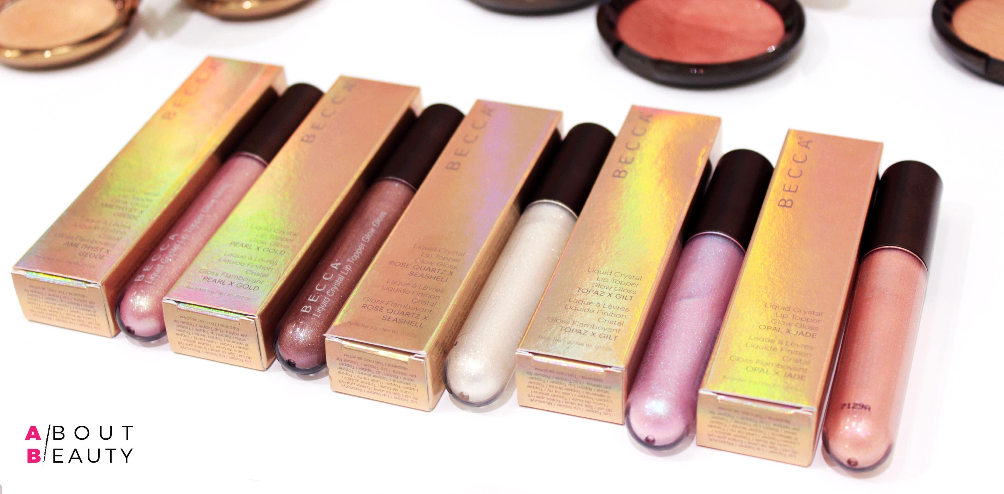 Tutte le tonalità dei nuovi lucidalabbra Liquid Crystal Lip Topper Glow Gloss - Info, prezzi, recensione
