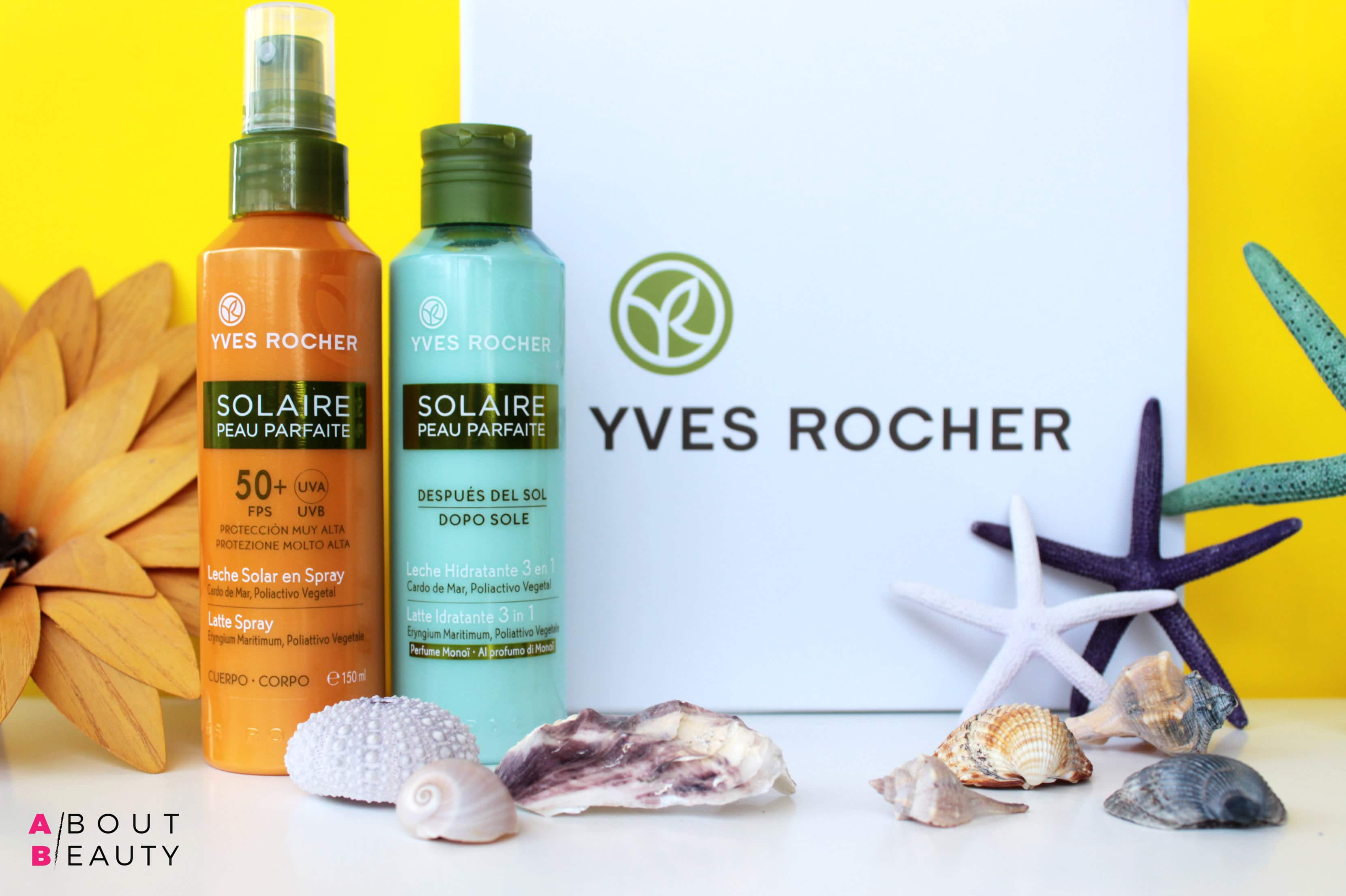 Al mare con i solari Yves Rocher Solaire Peau Parfaite - Latte Spray Corpo SPF 50+ e Latte Idratante 3 in 1 Doposole - Recensione, info, prezzo, INCI