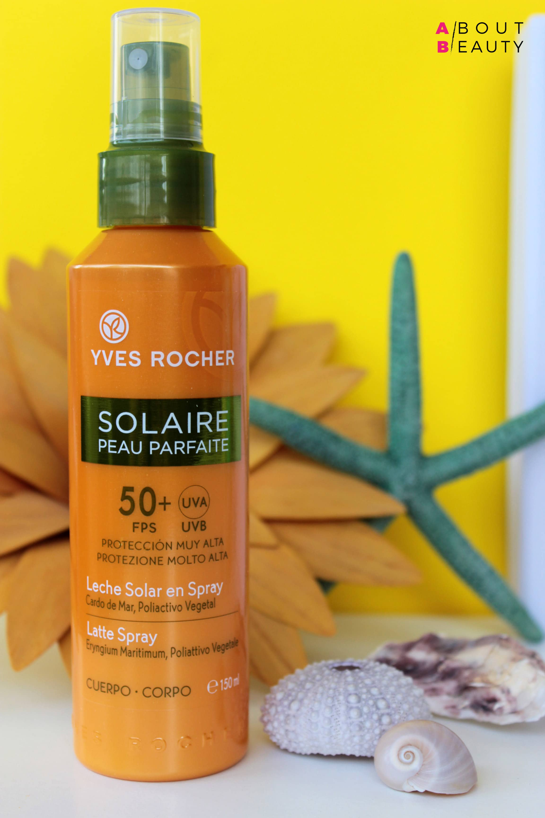 Al mare con i solari Yves Rocher Solaire Peau Parfaite - Latte Spray Corpo SPF 50+ - Recensione, info, prezzo