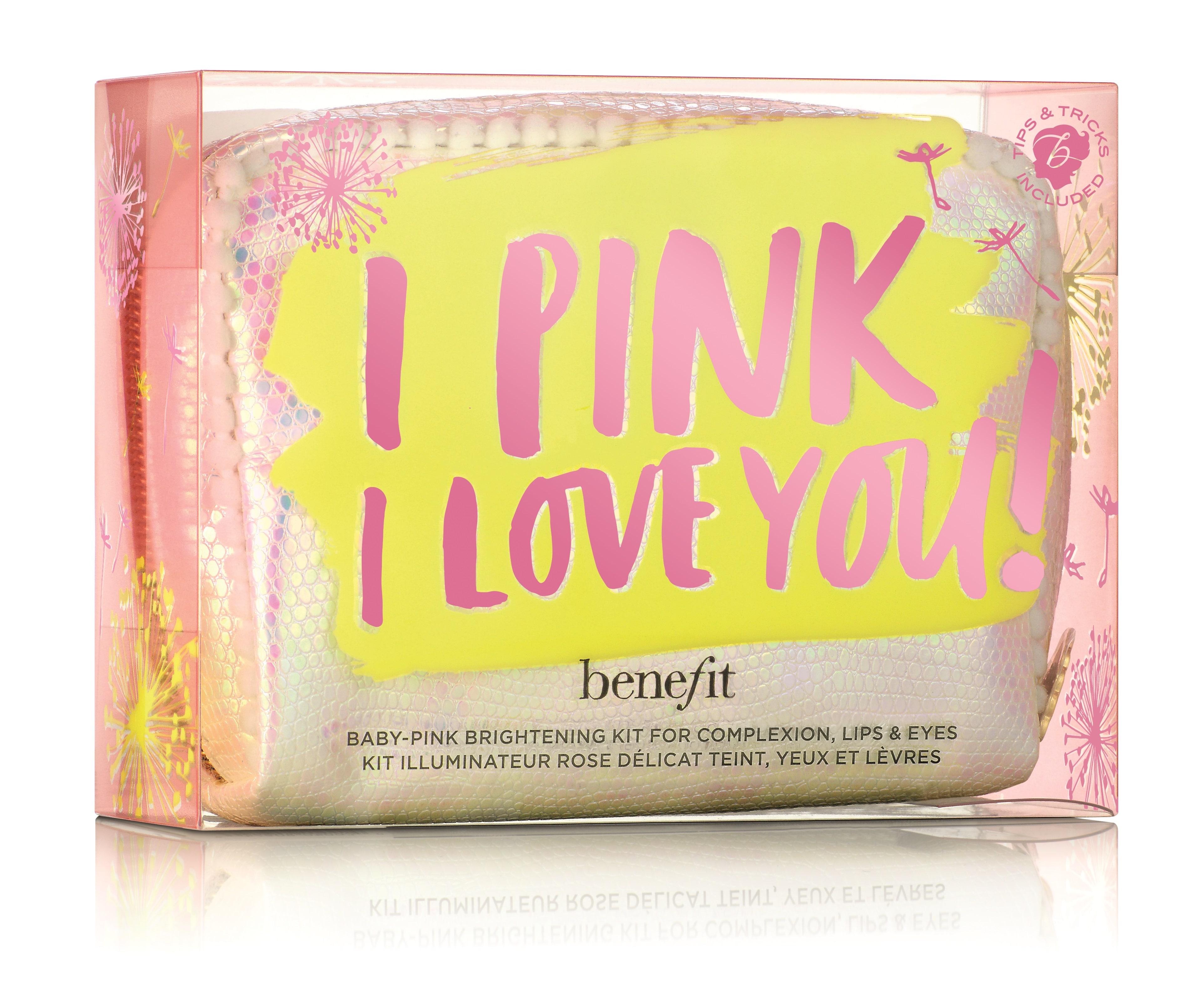 Benefit autunno-inverno 2017: la pochette da collezione I Pink Love You!
