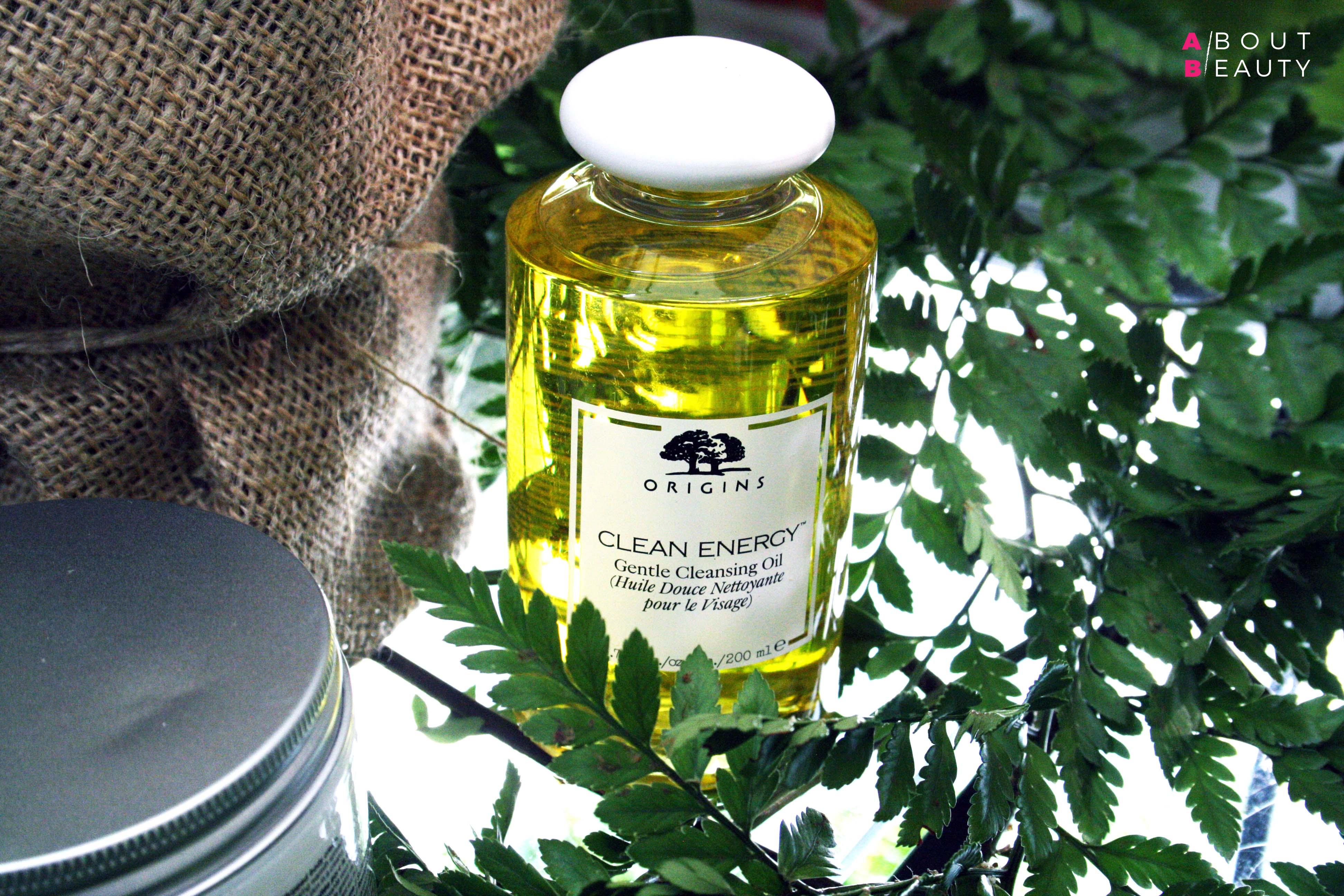 Origins arriva da Sephora con le sue linee skincare naturali: tutte le info foto e prezzi - Clean Energy Gentle Cleansing Oil