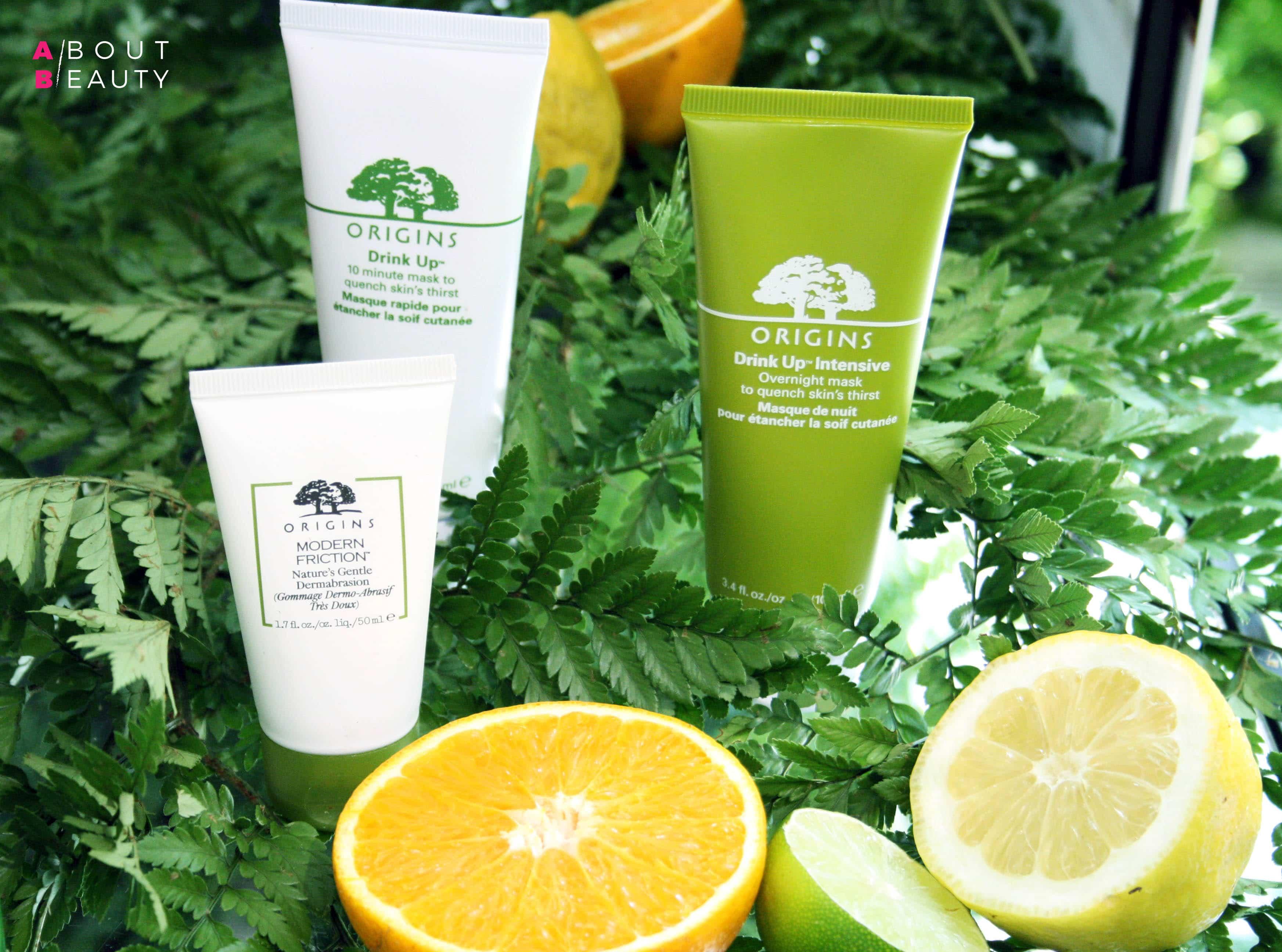 Origins arriva da Sephora con le sue linee skincare naturali: tutte le info foto e prezzi - Linea Drink Up