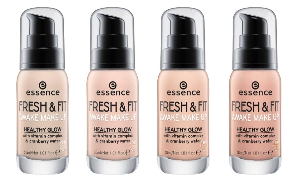 Essence autunno-inverno 2017: Fresh and fit fondotinta