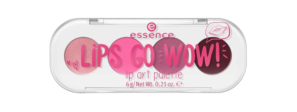 Essence autunno-inverno 2017: Lips go wow! palette per make-up labbra