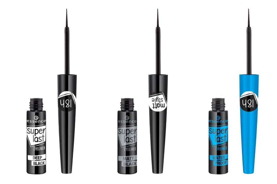 Essence autunno-inverno 2017: i tre Eyeliner Superlast