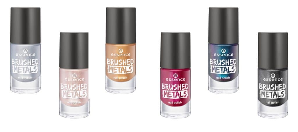 Essence autunno-inverno 2017: smalti Brushed Metals