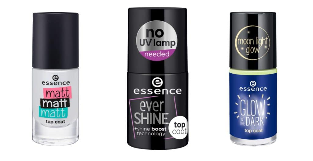 Essence autunno-inverno 2017: smalti top coat