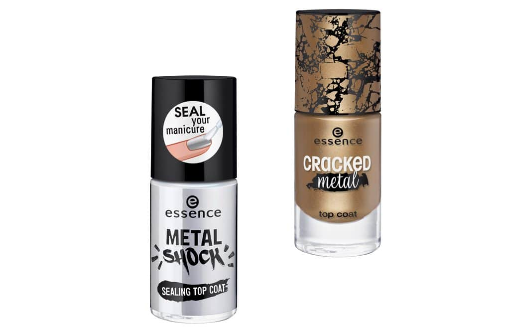 Essence autunno-inverno 2017: Metal Shock e Cracked Metal