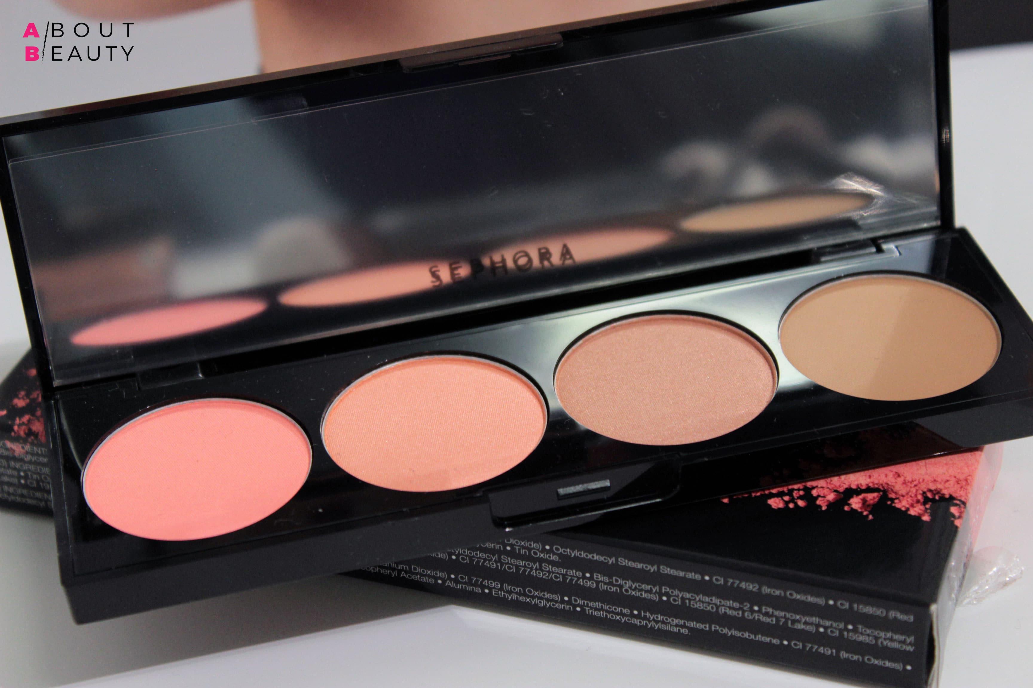 Novità Sephora Viso, Palette blush