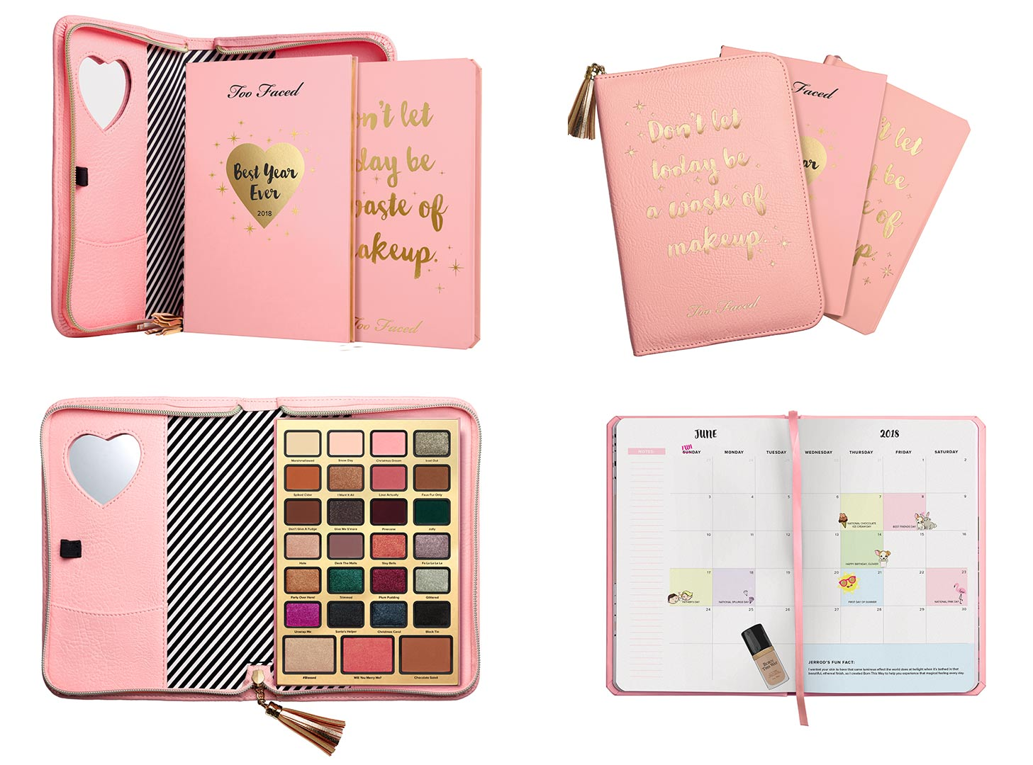 Novità natalizie Too Faced, Boss Lady Beauty Agenda