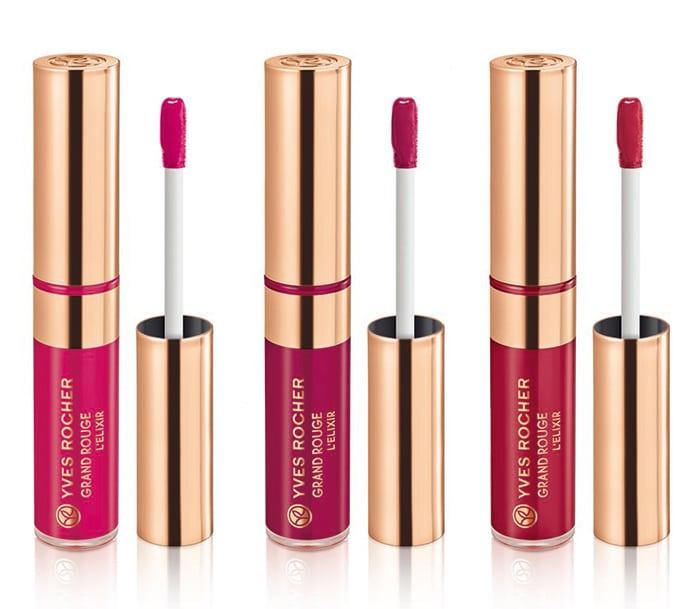 Nuovi rossetti liquidi Grand Rouge L'Elixir Yves Rocher - Info, foto, prezzi, colori