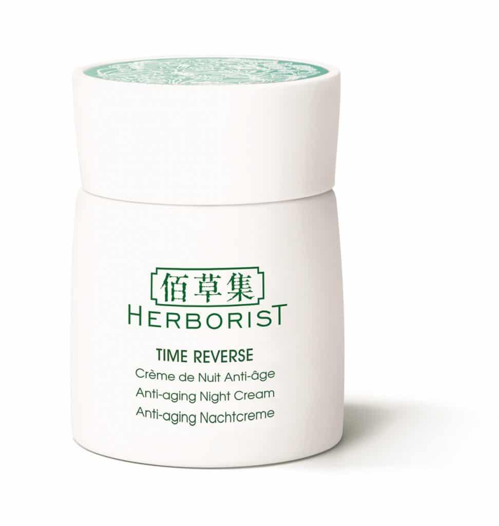 Trattamenti Antietà Herborist Time Reverse: info, prezzi, dove acquistare, recensione - Crema viso notte antietà