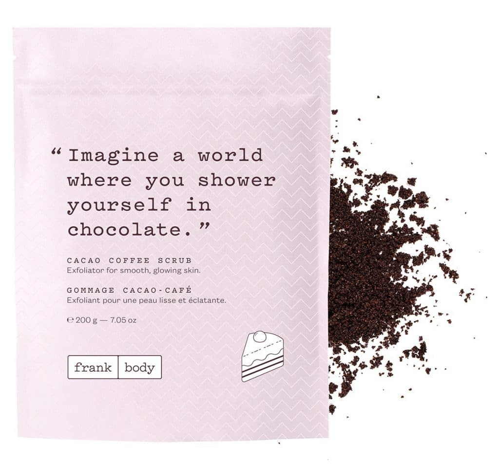 About Beauty Scrub al caffè e al cacao Frank Body