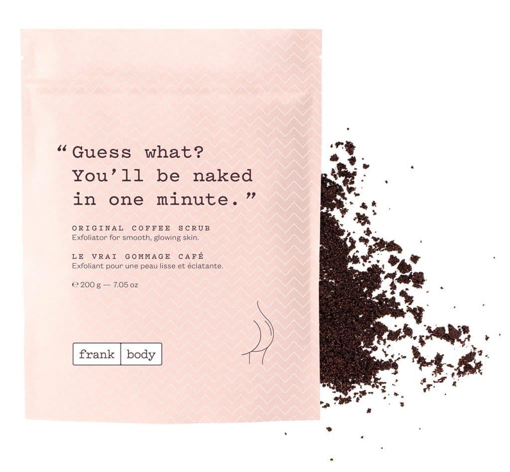 About Beauty Scrub al caffè Frank Body