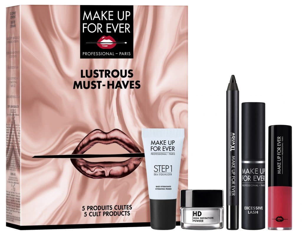 Le novità natalizie Make Up For Ever: Lustrous Must Haves