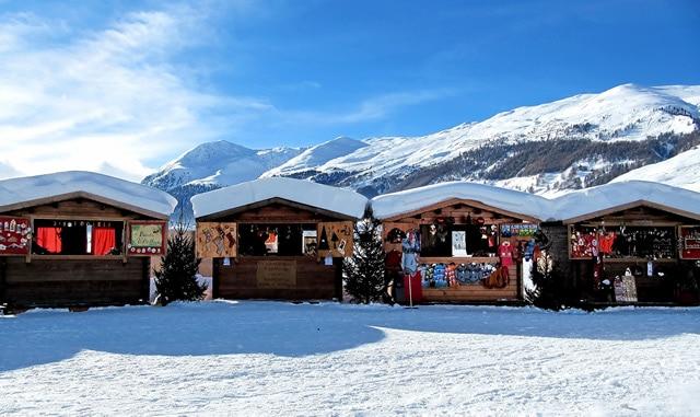 Shopping natalizio, i mercatini di Natale più belli, Livigno