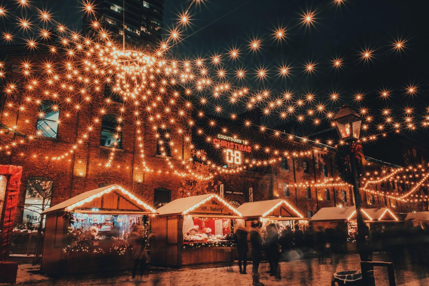 Shopping natalizio, i mercatini di Natale più belli