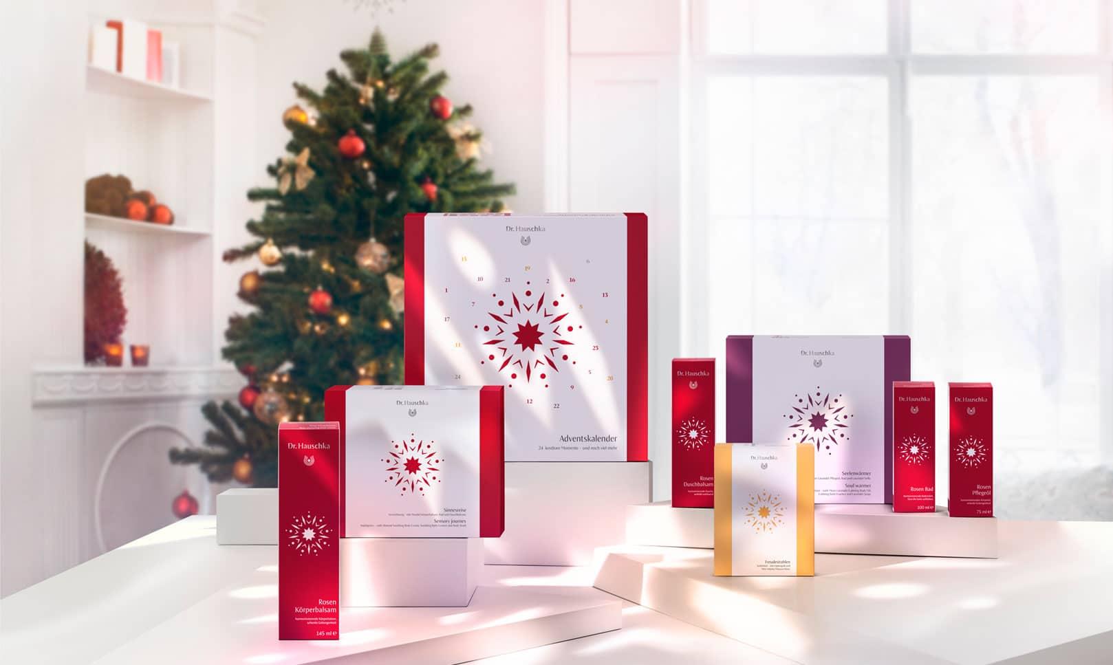 Natale Dr. Hauschka 2017: cofanetti skincare e make-up e calendario dell'avvento - Info, foto, prezzi, recensione