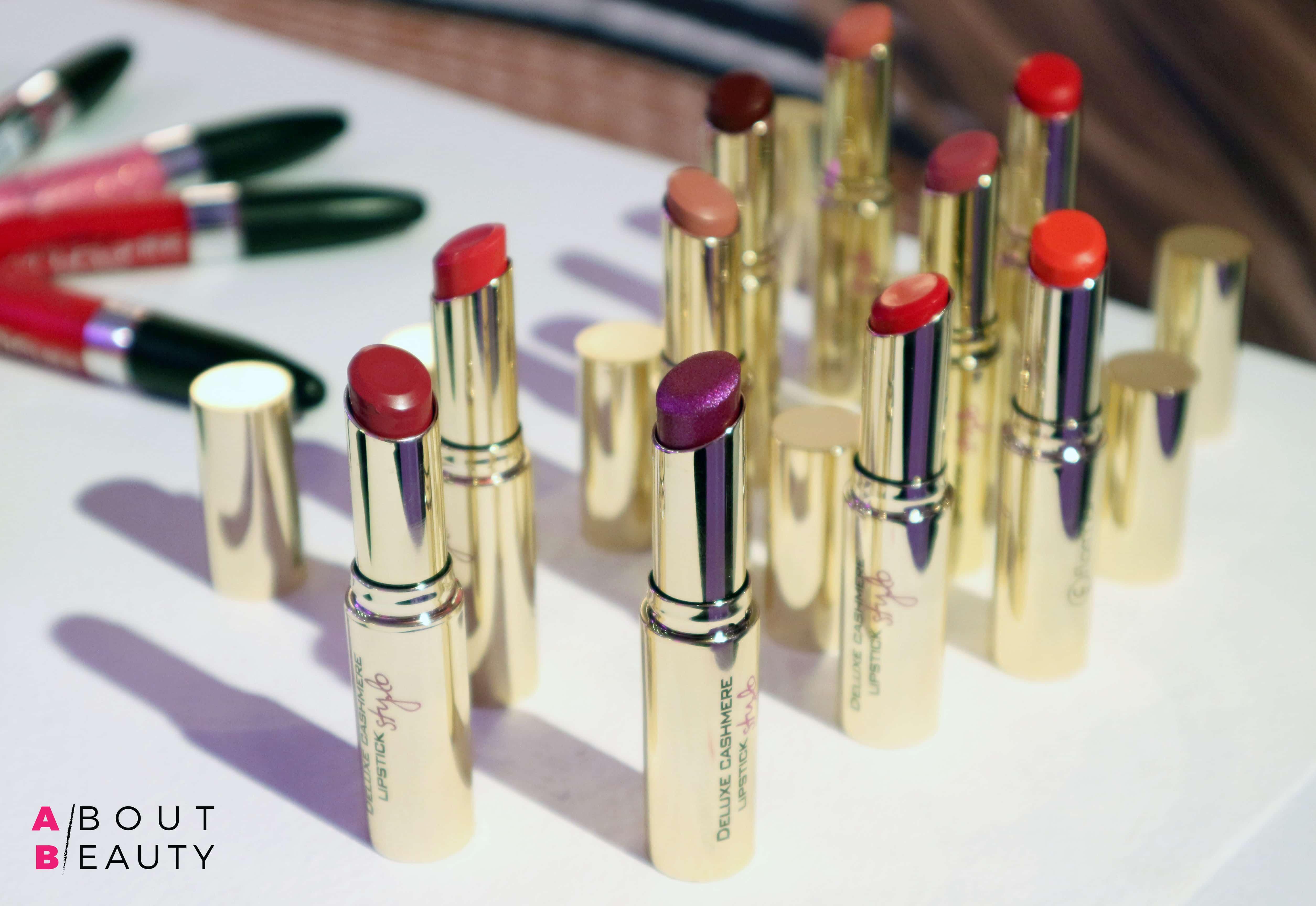 Flormar Professional Make-up, la linea di make-up completa dai prezzi accessibili - Info, recensione, prezzo, INCI - Rossetti Deluxe Cashmere Lipstick Stylo