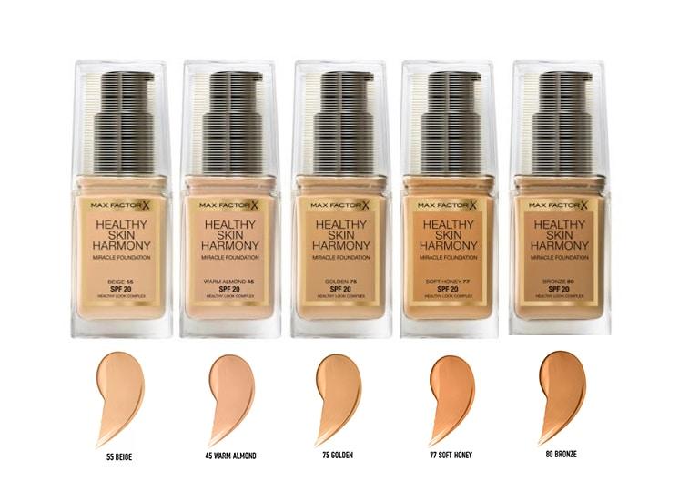 Max Factor Healthy Skin Harmony Fondotinta: info, prezzo, recensione, opinioni, immagini, swatch, INCI