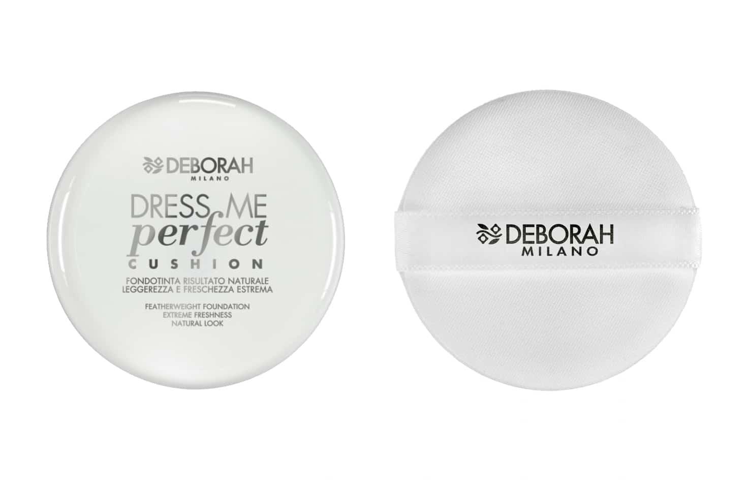 Deborah Dress Me Perfect Cushion Fondotinta: info, prezzo, recensione, opinioni, immagini, swatch, INCI