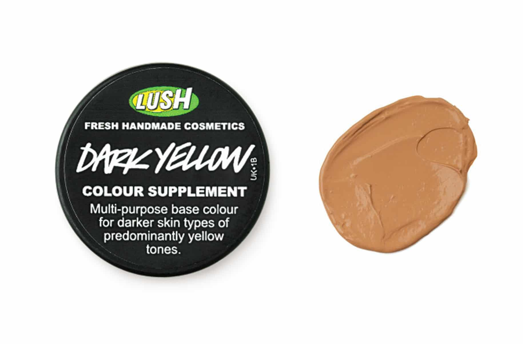 Lush Dark Yellow (Ocra Scuro) Fondotinta