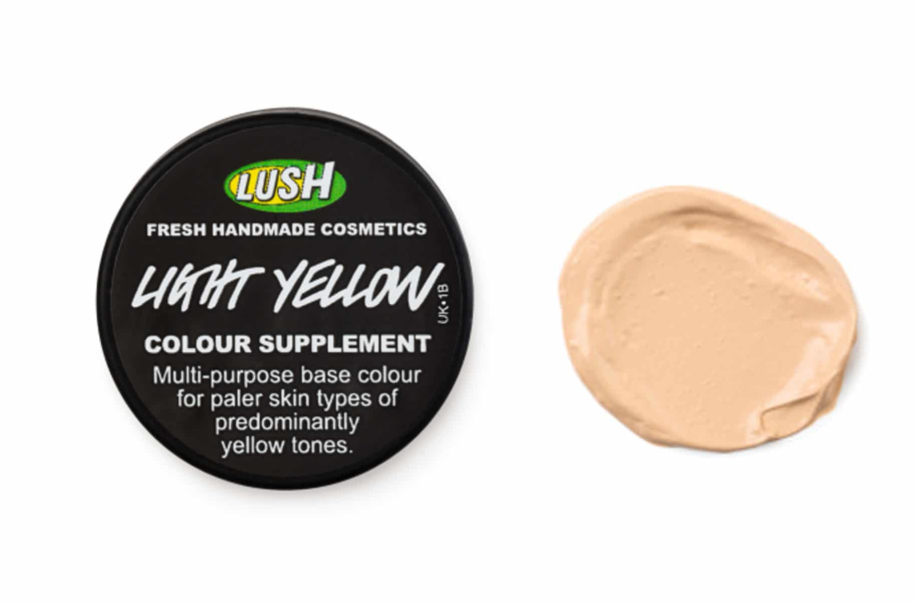 Lush Light Yellow (Ocra Chiaro) Fondotinta