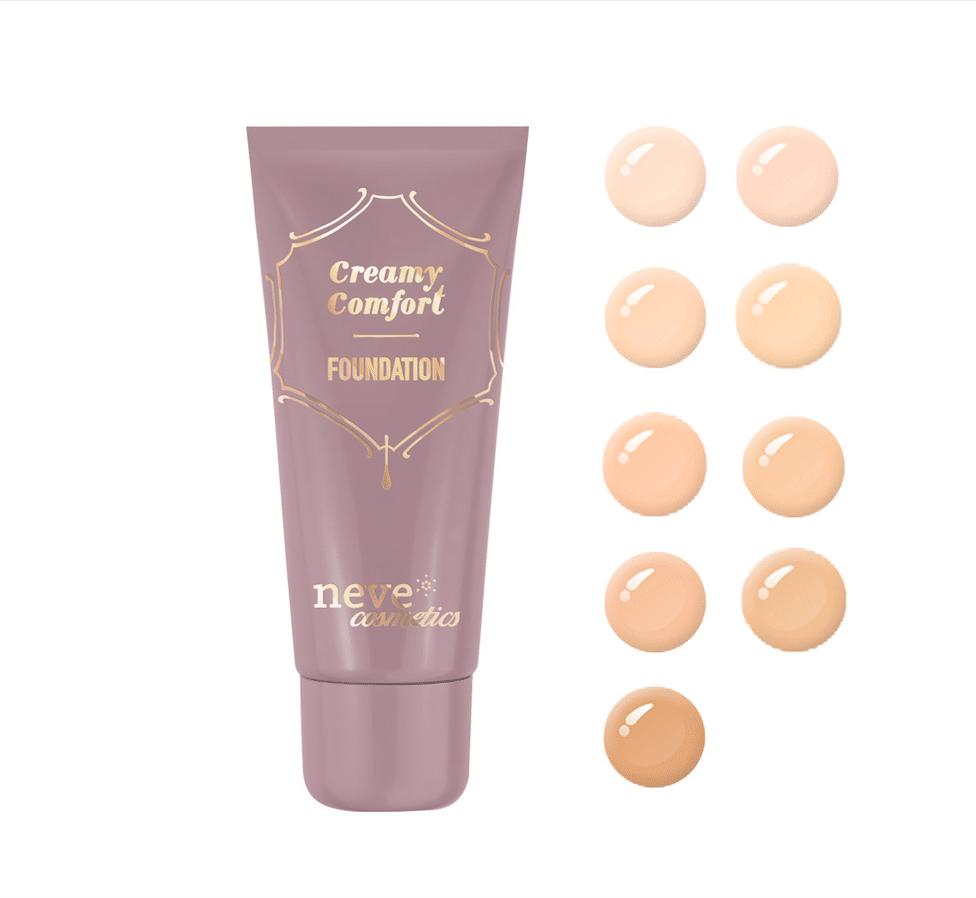 Neve Cosmetics Creamy Confort Fondotinta