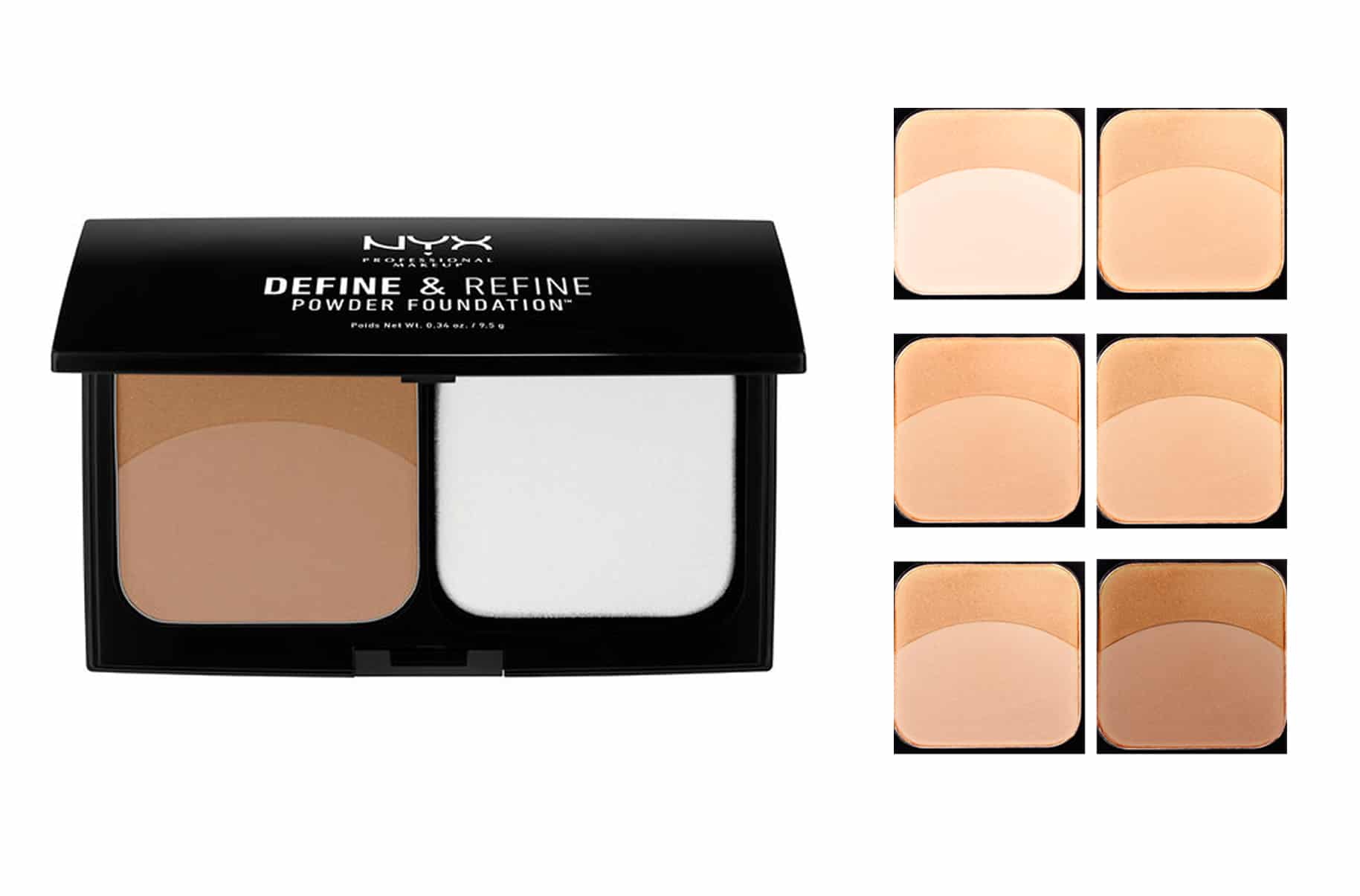 Nyx Define & Refine Powder Fondotinta Compatto