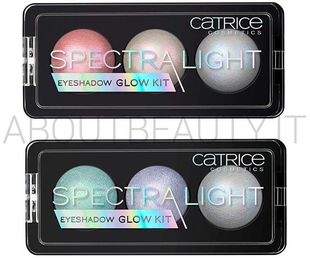 La nuova collezione Catrice Primavera/Estate 2018 - Novità, info, prezzo, recensione, review, opinioni, swatch, dove acquistare - SpectraLight Eyeshadow Glow Kit