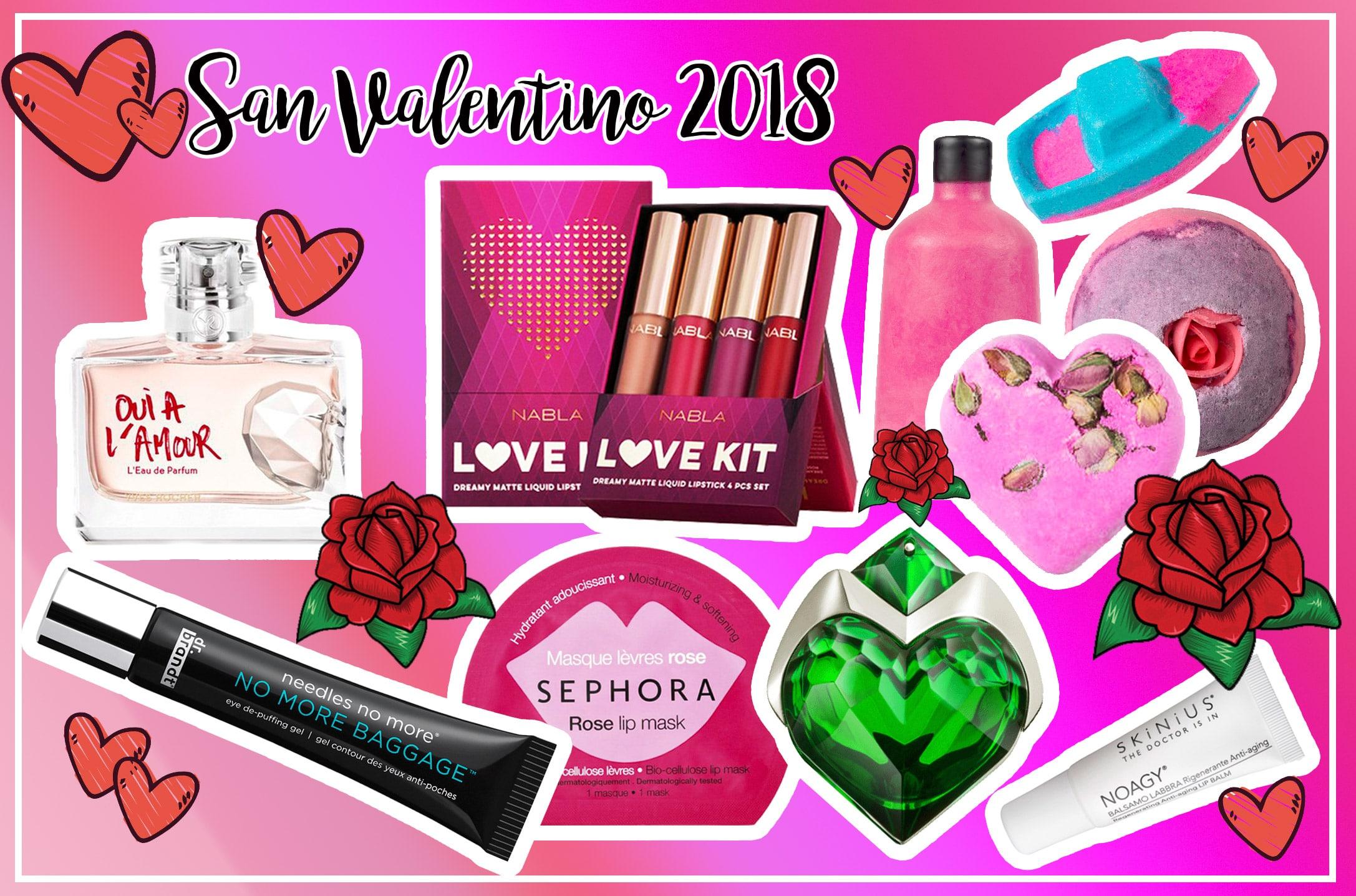 San Valentino 2018, idee regalo beauty e make up, prezzi e consigli