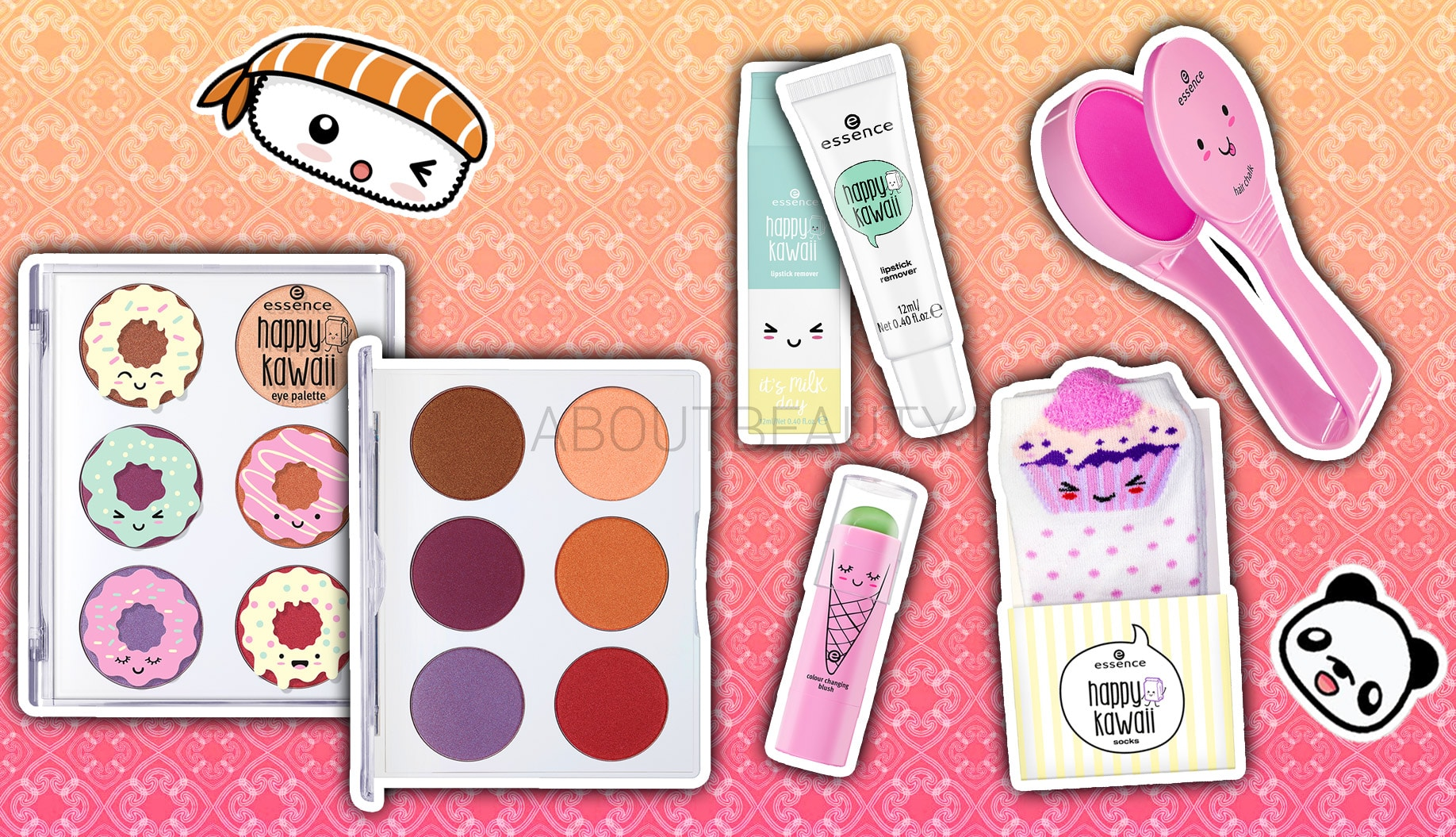 Essence Happy Kawaii, la trend edition ispirata a Tokyo - Review, recensione, info, prezzi, dove acquistare, swatch
