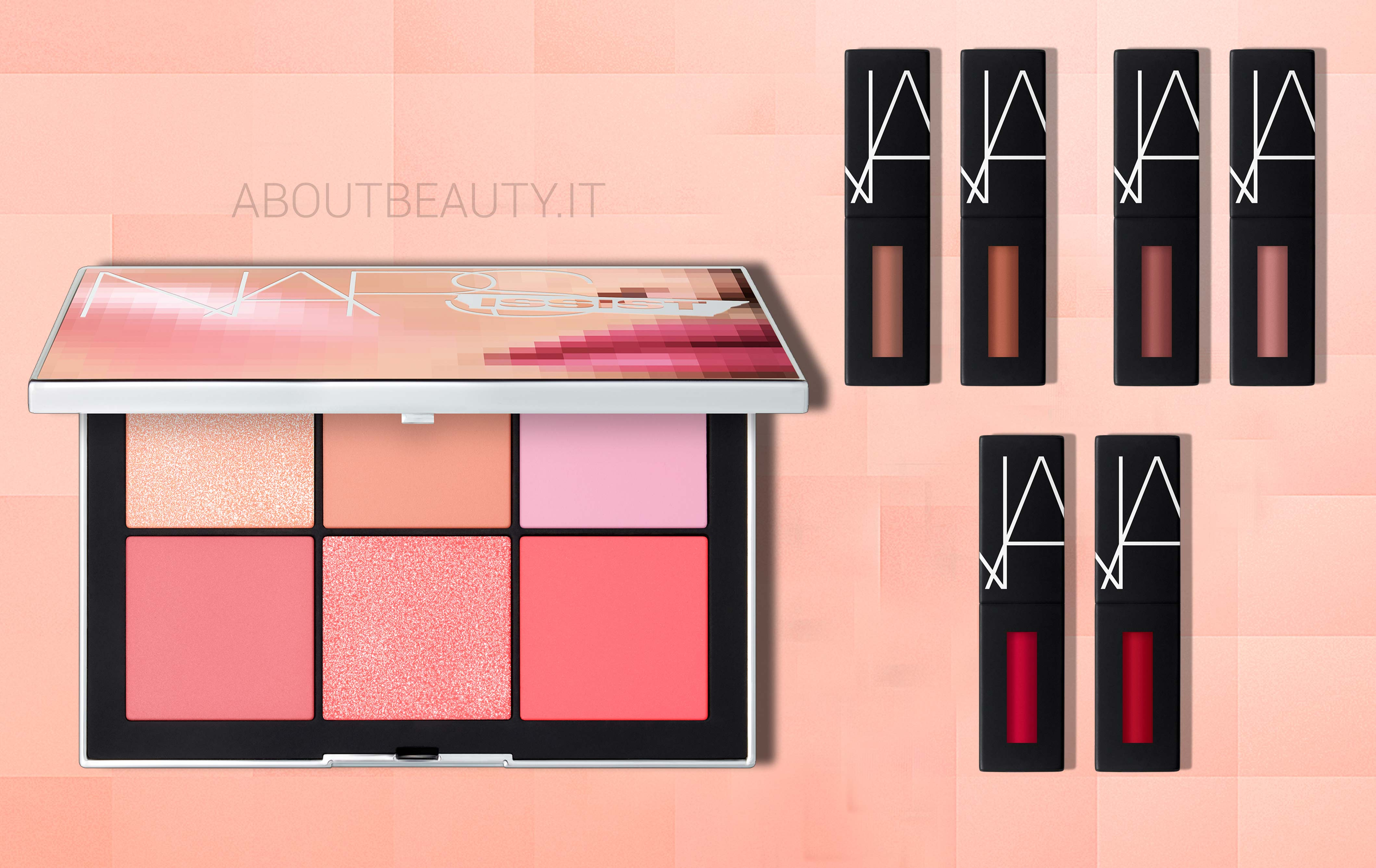 Novità Nars: NARSissist Wanted Cheek Palette e NARSissist Wanted Power Pack Lip Kits - Review, recensione, info, prezzo, dove acquistare, data uscita, swatch, INCI