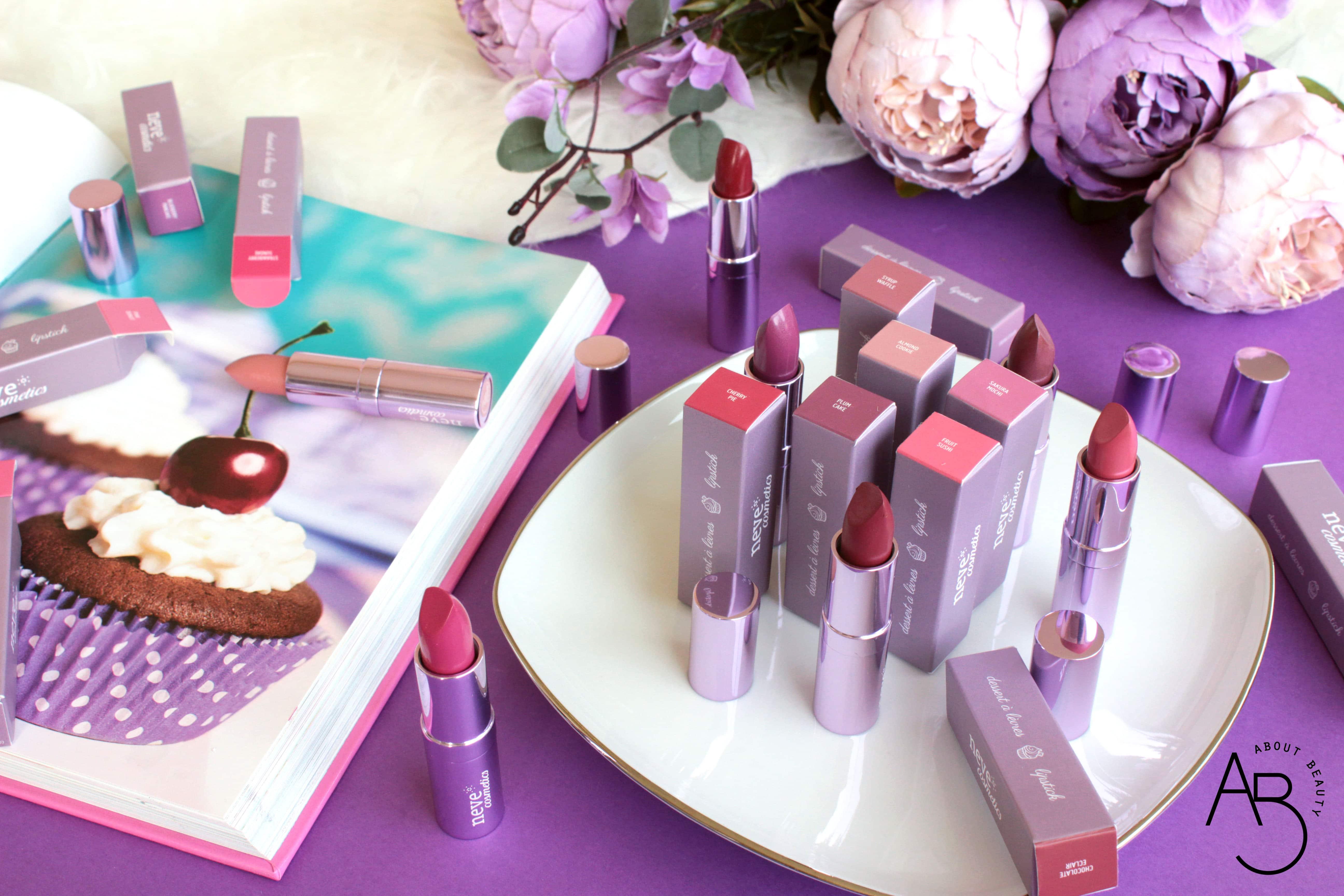 Nuovi rossetti Neve Cosmetics Dessert a Levres 2018: info, foto, swatch, prezzo, data di uscita, dove acquistare, recensione, review