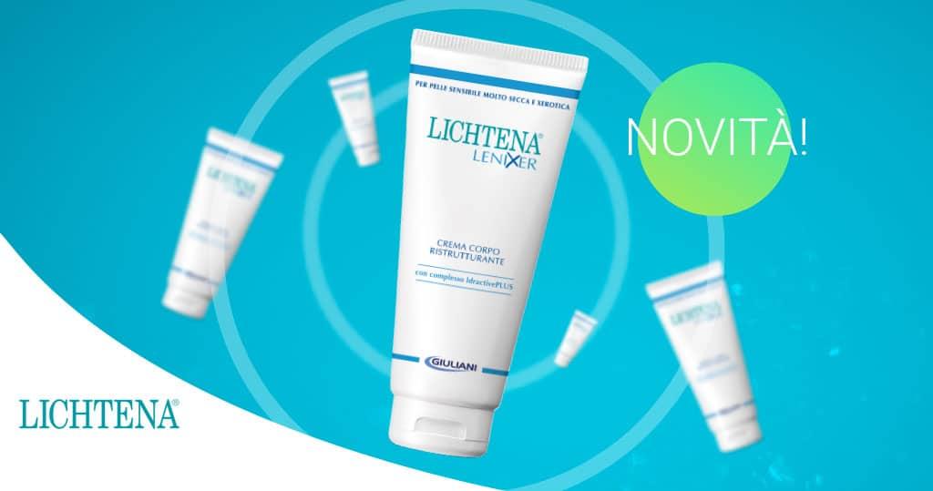 Cause e rimedi pelle secca e che si squama: la soluzione è Lichtena Lenixer