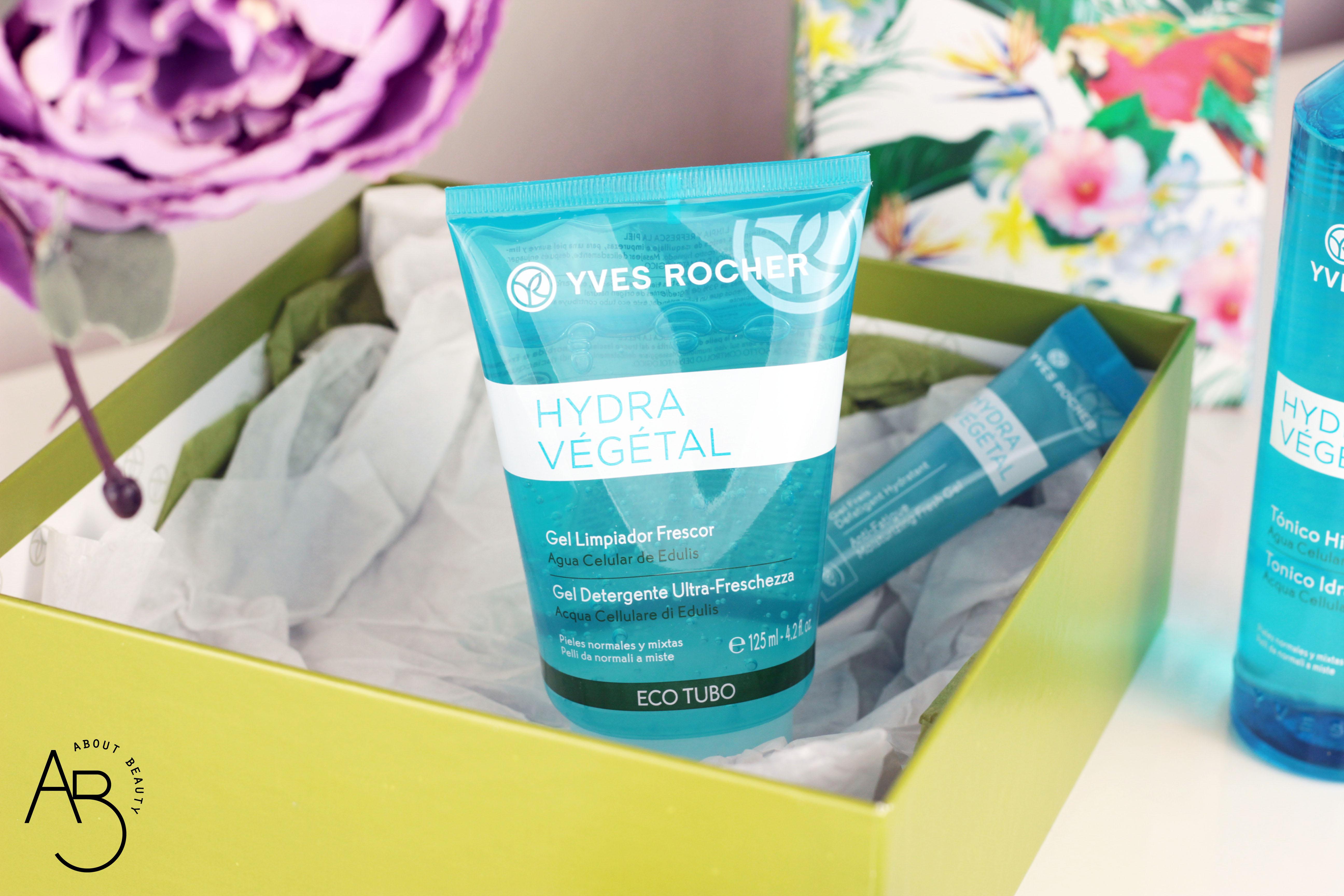 Yves Rocher Hydra Vegetal, la nuova linea idratante - Review, recensione, info, prezzo, dove acquistare, foto - Gel Detergente Ultra Freschezza