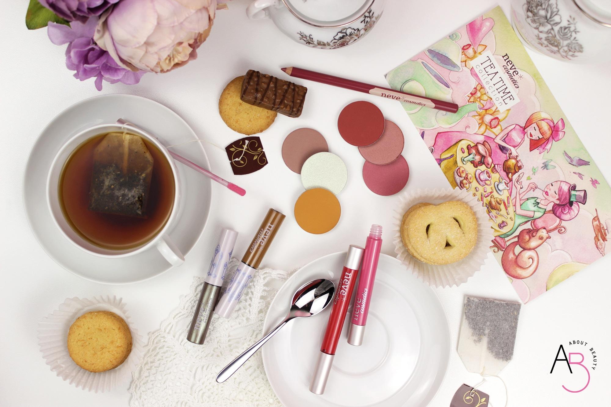 Neve Cosmetics Tea Time Collection, la nuova collezione primavera 2018 dedicata alla poesia dell'ora del tè - Review, recensione, info, prezzo, swatch, tutorial, dove acquistare, promo