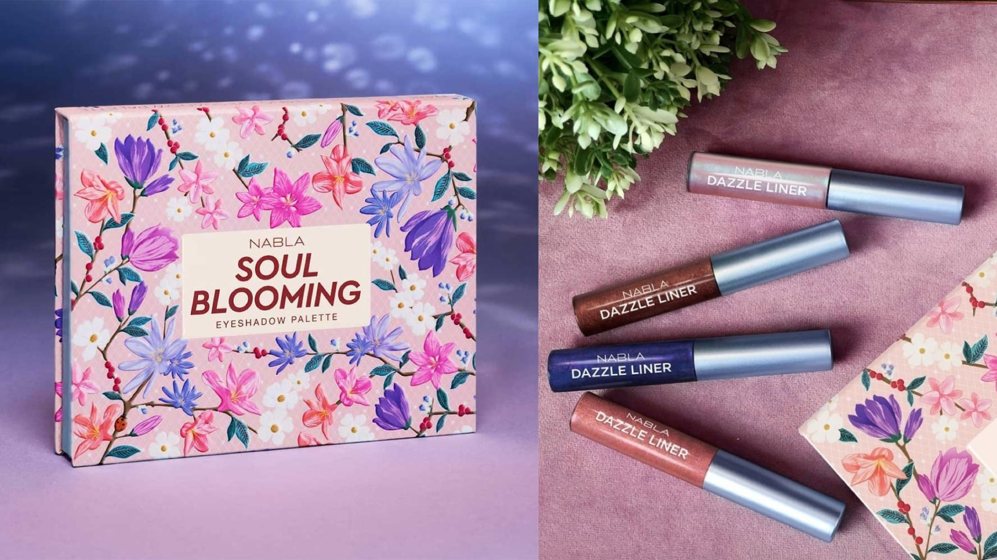 Soul Blooming, la nuova collezione primavera 2018 firmata NABLA Cosmetics: anteprima, foto, swatch, prezzo, dove acquistare, data di uscita, info