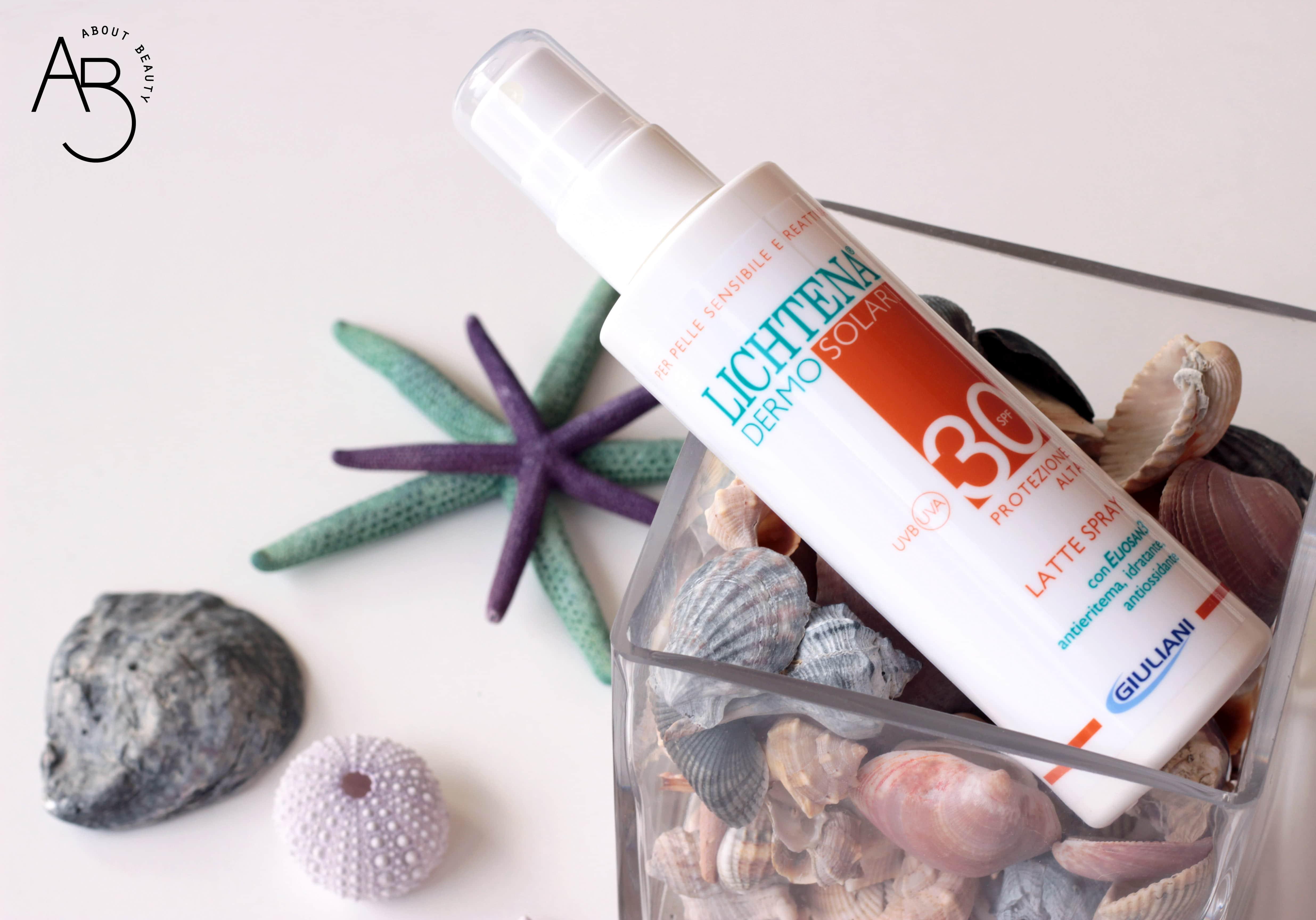 Lichtena® Dermosolari Latte Spray SPF 30 - Recensione, review, opinioni, info, prezzo, dove acquistare