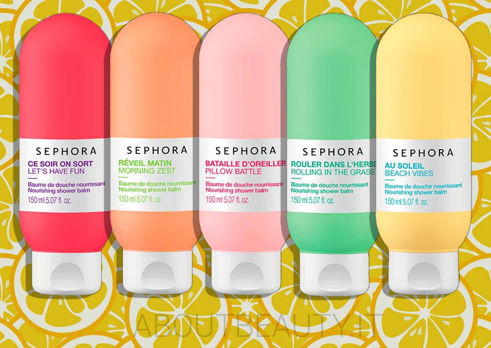 Una fragranza per ogni mood con la nuova Sephora Bath Collection, balsamo doccia