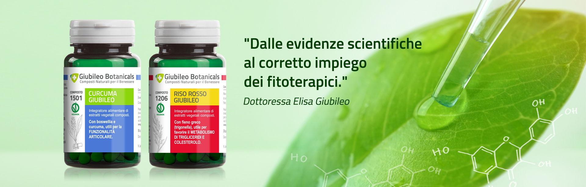 Giubileo Botanicals, integratori naturali per il benessere di corpo e mente