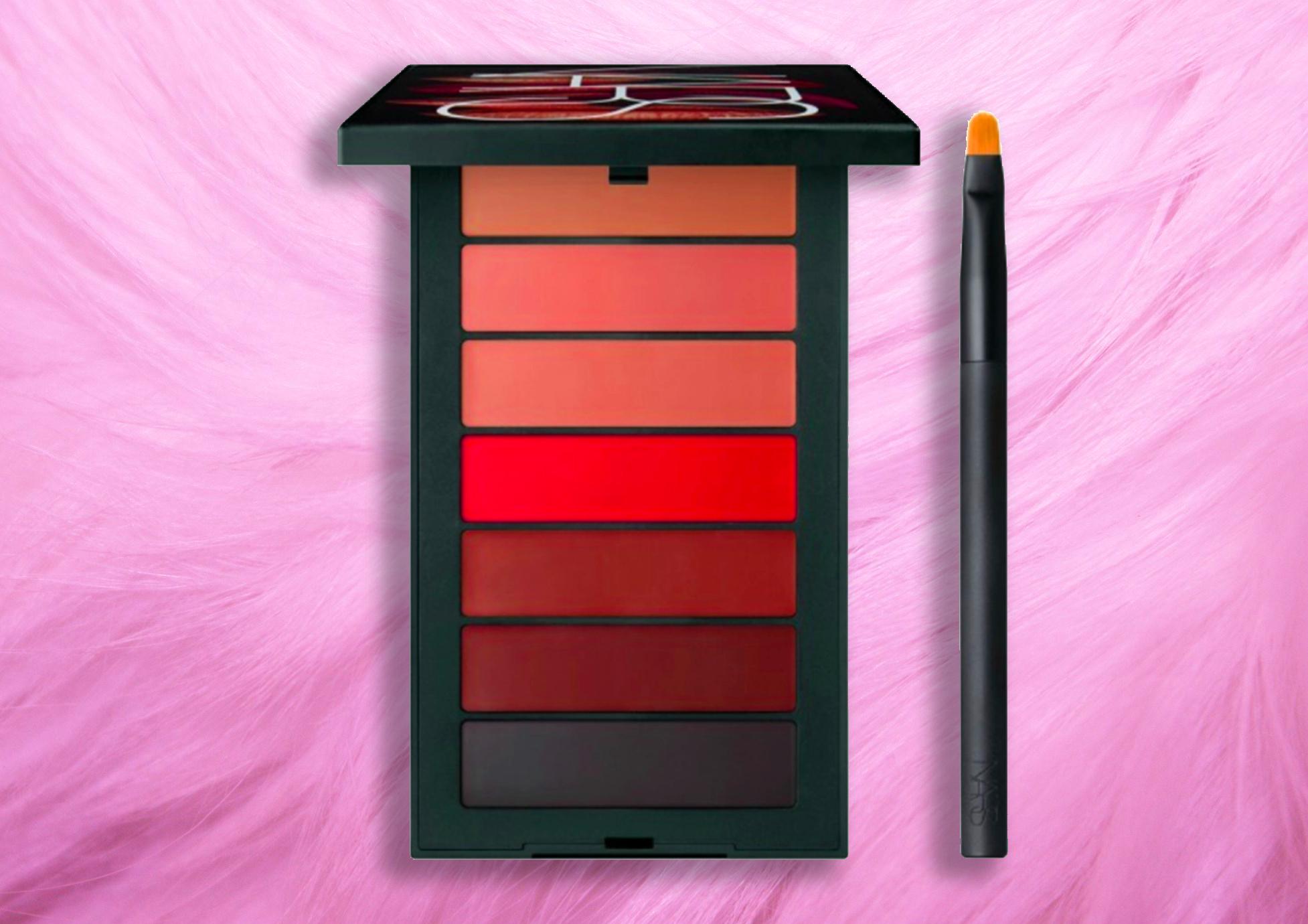 Le novità della collezione Nars Autunno 2018, info, prezzi, swatch, opinioni, recensione, review - 7 Deadly Sins Audacious Lipstick Palette