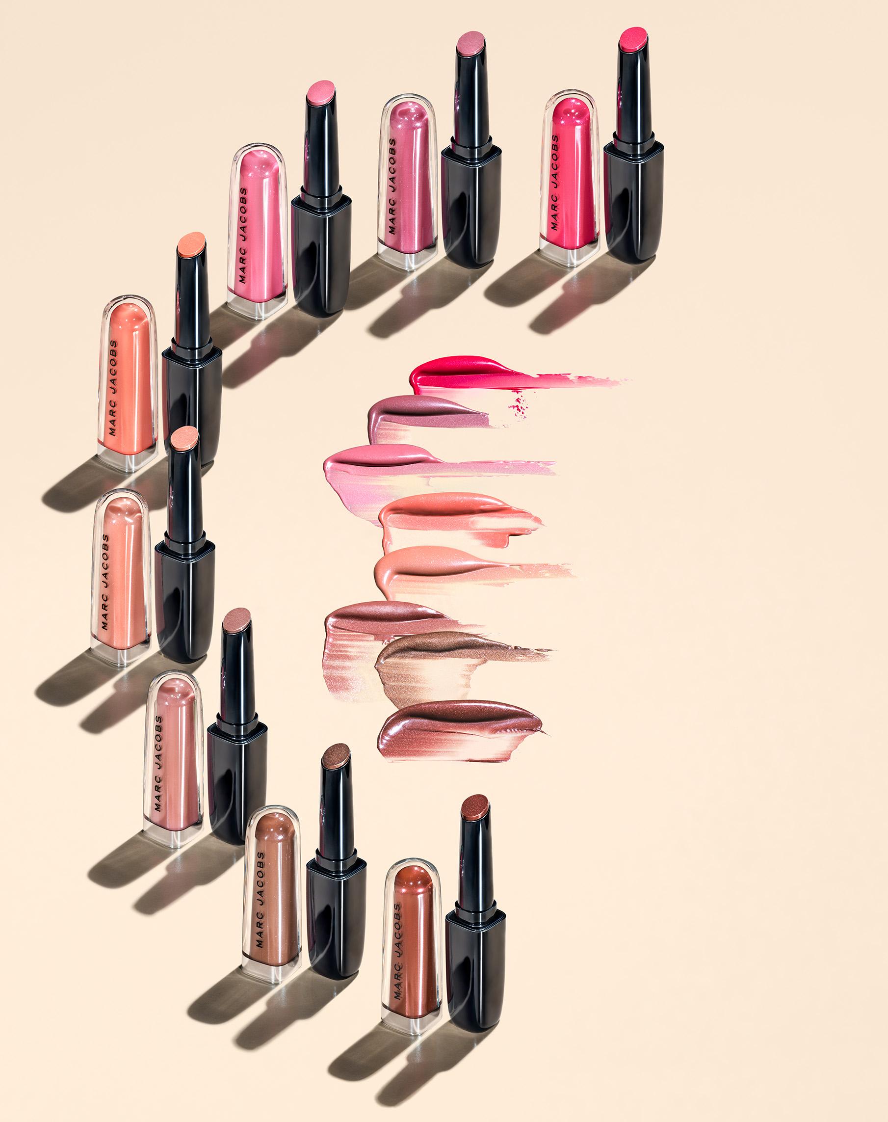 Nuovi lucidalabbra Marc Jacobs Enamored Hydrating Lip Gloss Stick - Recensione, review, opinioni, data di uscita, info, prezzo, swatch