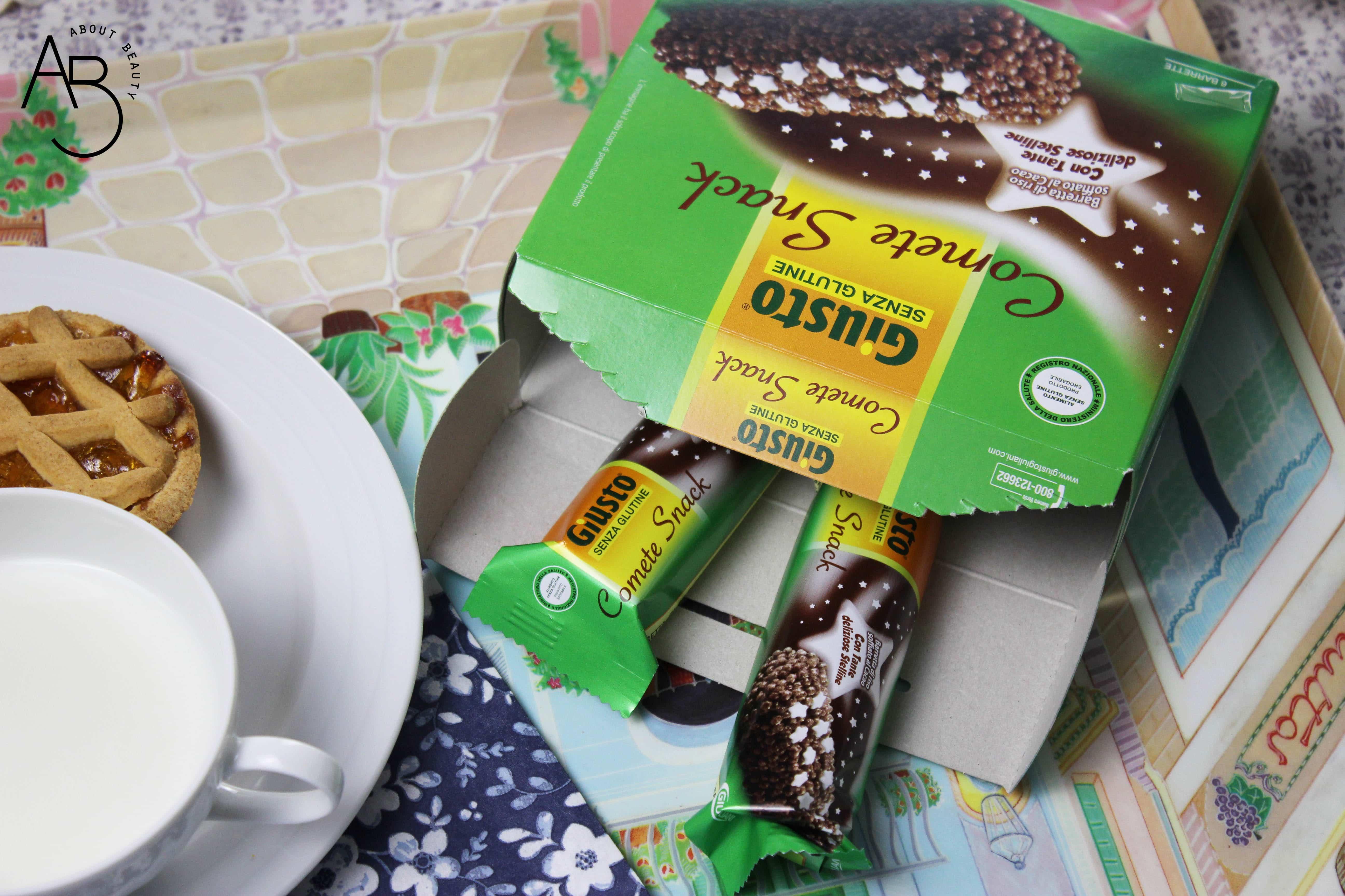Giusto Senza Glutine - Cibo senza glutine per celiaci - Info, opinioni, dove acquistare, prezzo, recensione, review, assortimento - Comete Snack